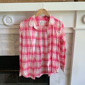Woman's Vineyard Vines Button Down Shirt Size 4